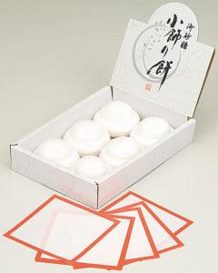 小飾り餅(砂糖)6組入 900円