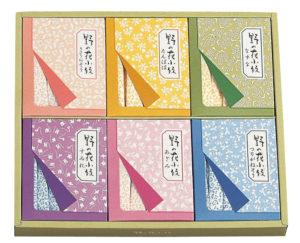 野の花小紋(スティックシュガー) 500円、1000円